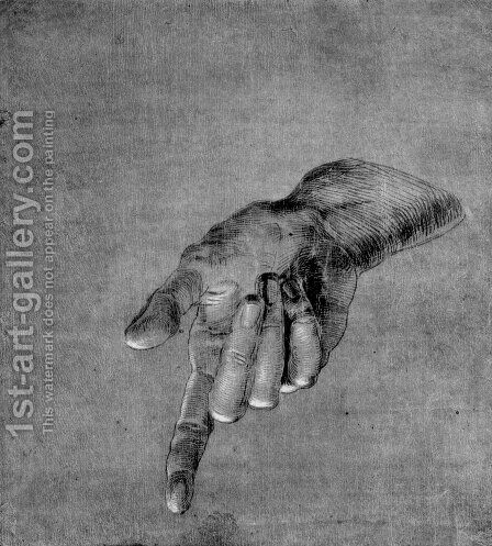 Right Hand of an Apostle by Albrecht Durer - Reproduction Oil Painting