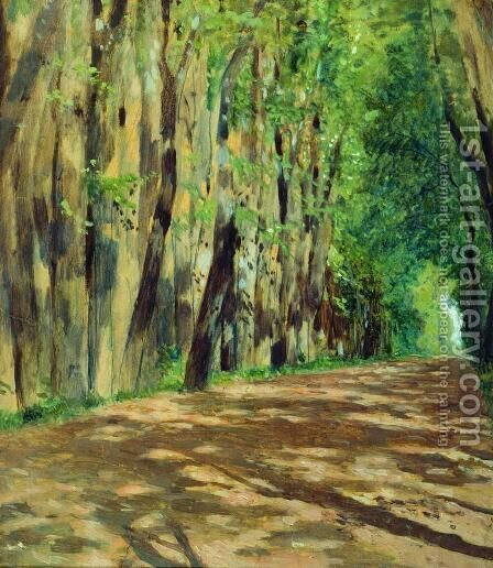 Parkway by Isaak Ilyich Levitan - Reproduction Oil Painting