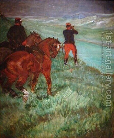 Observation Fabre, Reserve Officer by Toulouse-Lautrec - Reproduction Oil Painting