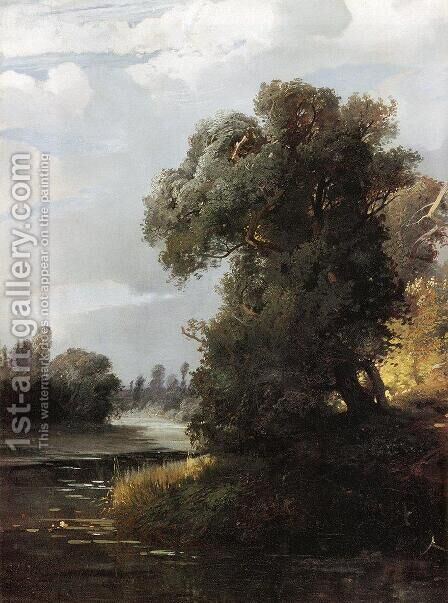 Summer Day by Alexei Kondratyevich Savrasov - Reproduction Oil Painting