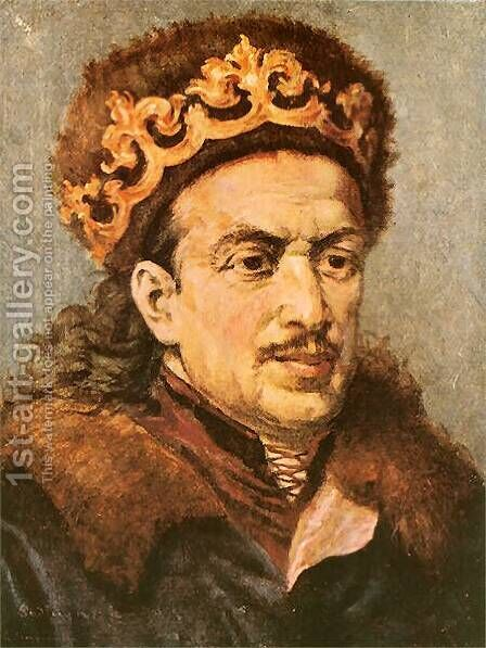 Casimir Jagiellonian by Jan Matejko - Reproduction Oil Painting