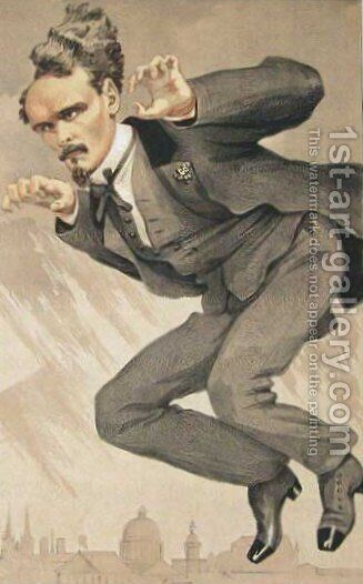 Men of the Day No.4, The mob rule (Henri Rochefort) by James Jacques Joseph Tissot - Reproduction Oil Painting