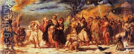 Ivan the Terrible by Jan Matejko - Reproduction Oil Painting