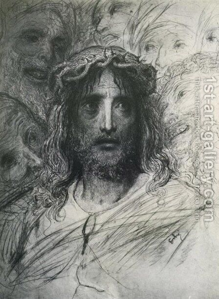 Jesus by Gustave Dore - Reproduction Oil Painting