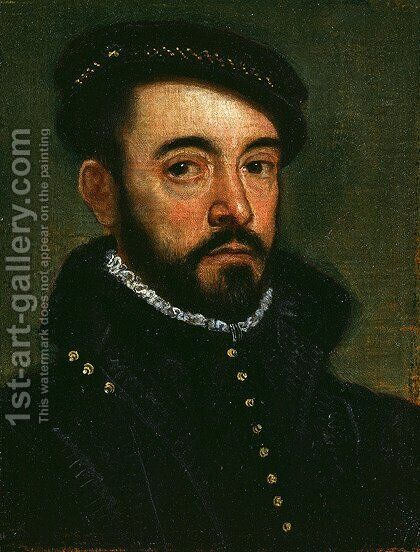 Portrait of a Man 5 by Jacopo Tintoretto (Robusti) - Reproduction Oil Painting