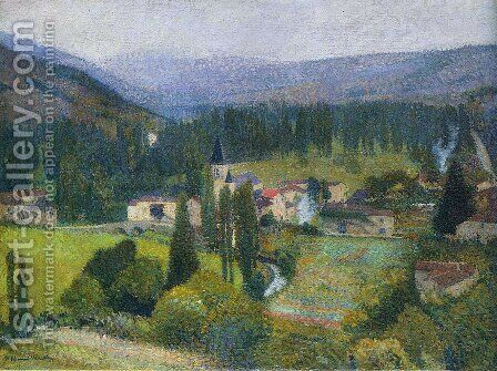 Labastide du Vert 2 by Henri Martin - Reproduction Oil Painting