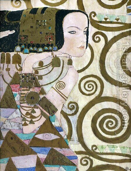 Unknown 2 by Gustav Klimt - Reproduction Oil Painting