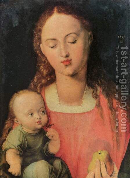 Maria with child by Albrecht Durer - Reproduction Oil Painting