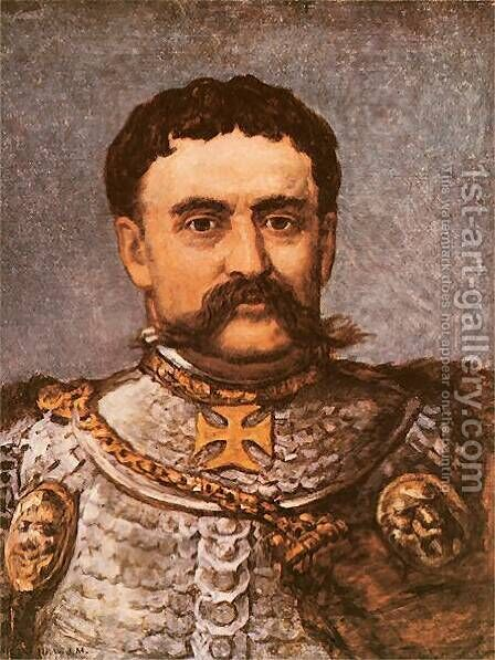 Jan III Sobieski by Jan Matejko - Reproduction Oil Painting