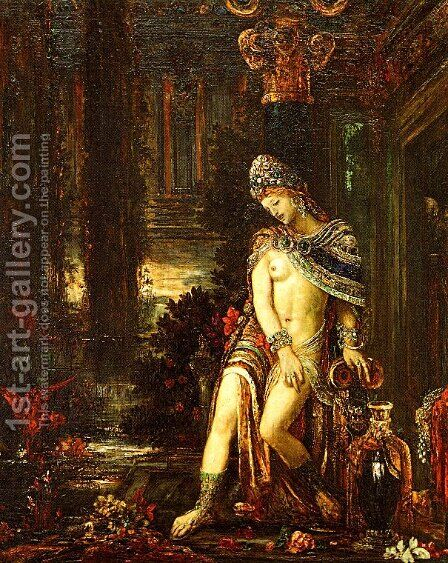 Susanna and the Elders by Gustave Moreau - Reproduction Oil Painting