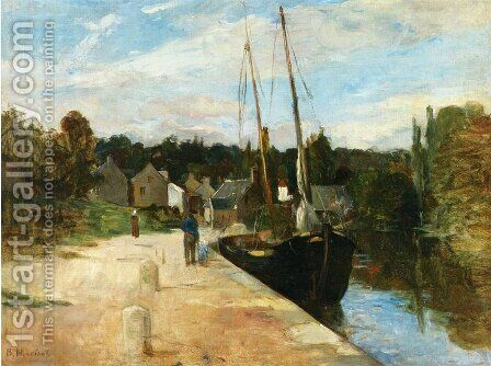 Rosbras, Brittany by Berthe Morisot - Reproduction Oil Painting