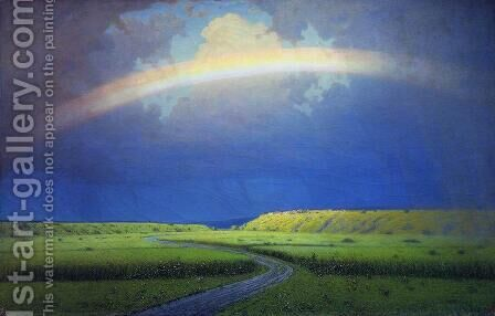 Rainbow by Arkhip Ivanovich Kuindzhi - Reproduction Oil Painting