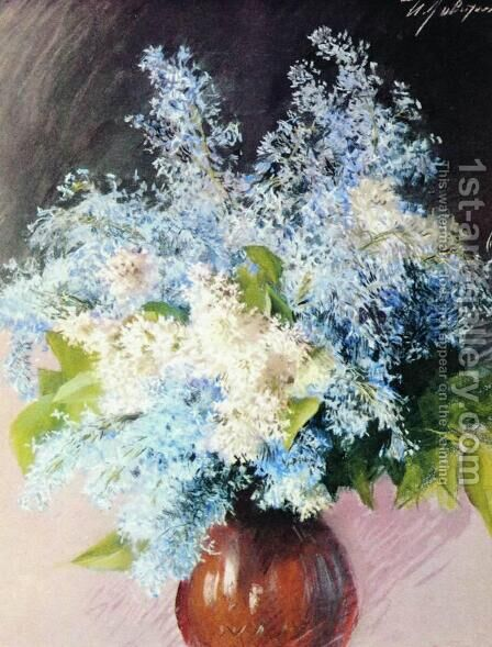 Lilacs by Isaak Ilyich Levitan - Reproduction Oil Painting