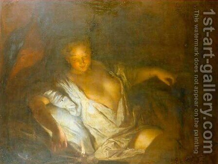 Nocturne by Antoine Pesne - Reproduction Oil Painting