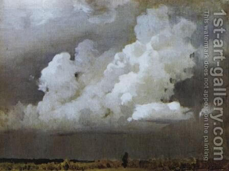 Before the storm by Isaak Ilyich Levitan - Reproduction Oil Painting