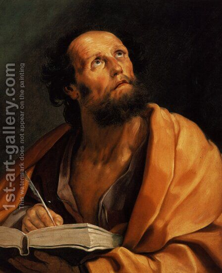 Saint Luke by Guido Reni - Reproduction Oil Painting