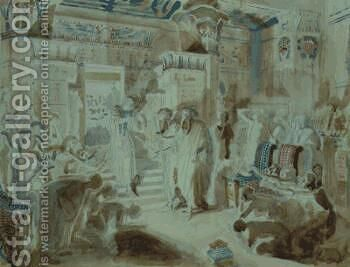 Pharaoh asked Moses to bring jewish people out of Egypt by Alexander Ivanov - Reproduction Oil Painting