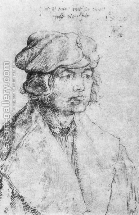 Portrait of Jobst Plankfelt by Albrecht Durer - Reproduction Oil Painting