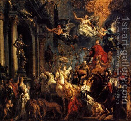 The Triumph of Frederic-Henri by Jacob Jordaens - Reproduction Oil Painting