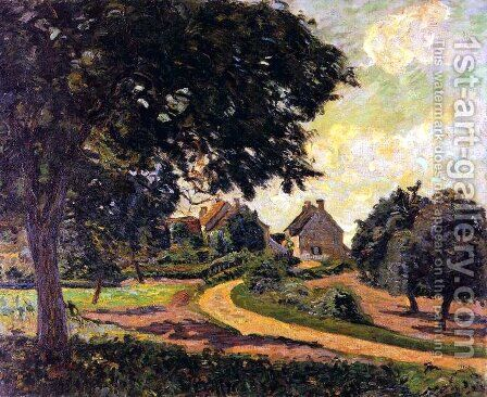 Apres la pluie by Armand Guillaumin - Reproduction Oil Painting