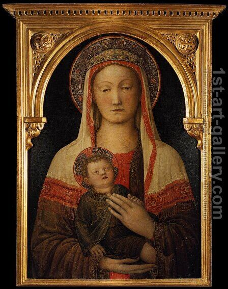 Madonna and Child 4 by Giovanni Bellini - Reproduction Oil Painting