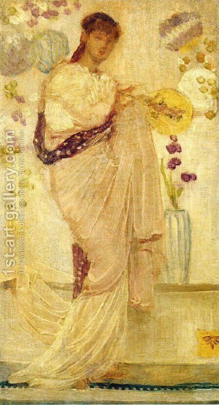 Tanagra by James Abbott McNeill Whistler - Reproduction Oil Painting
