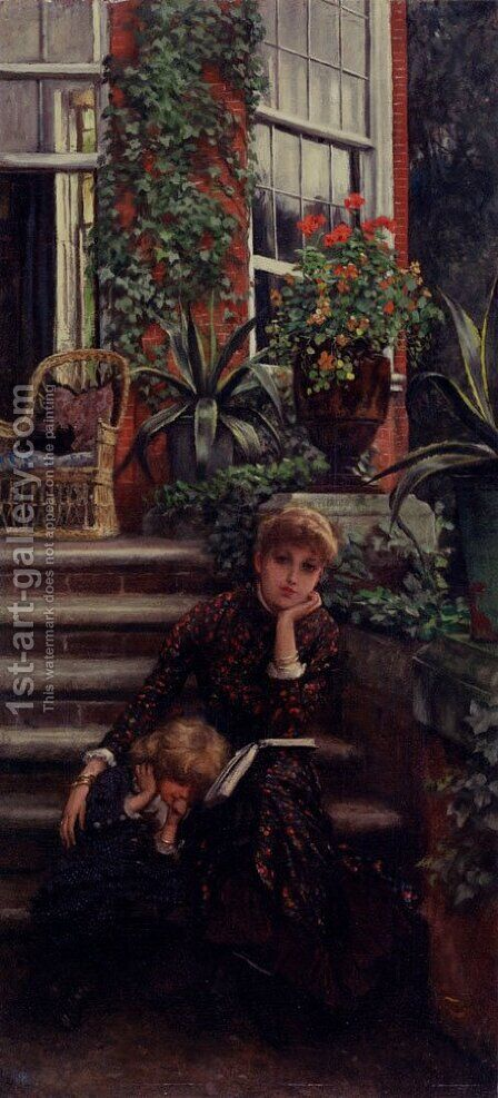 Older Sister by James Jacques Joseph Tissot - Reproduction Oil Painting
