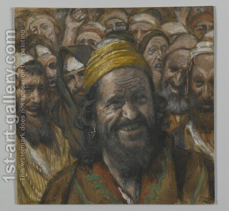 Barrabbas, illustration from 'The Life of Our Lord Jesus Christ' by James Jacques Joseph Tissot - Reproduction Oil Painting