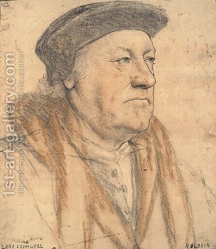 George Nevill, 3rd Baron Bergavenny by Hans, the Younger Holbein - Reproduction Oil Painting