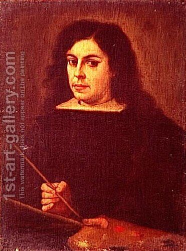 Selfportrait by Bartolome Esteban Murillo - Reproduction Oil Painting