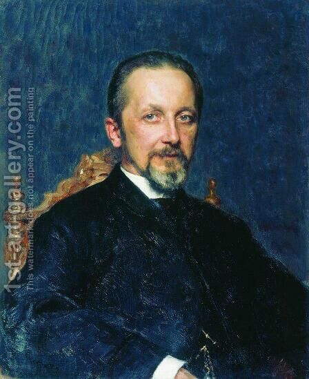 Privy Councillor by Ilya Efimovich Efimovich Repin - Reproduction Oil Painting