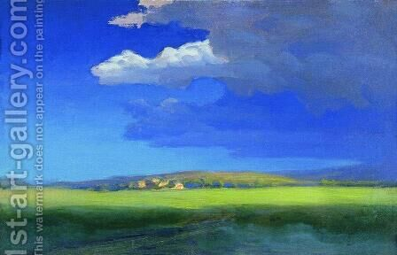After the thunderstorm by Arkhip Ivanovich Kuindzhi - Reproduction Oil Painting