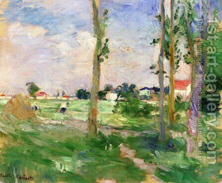 Landscape of Creuse by Berthe Morisot - Reproduction Oil Painting