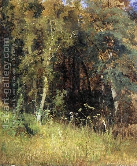 Covert by Ivan Shishkin - Reproduction Oil Painting