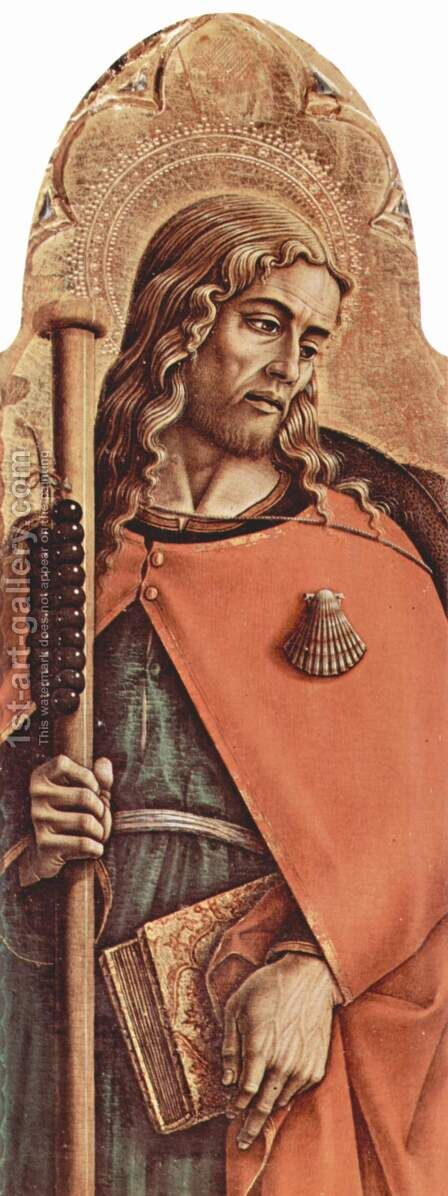 Saint by Carlo Crivelli - Reproduction Oil Painting