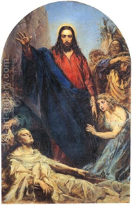 Christ by Jan Matejko - Reproduction Oil Painting