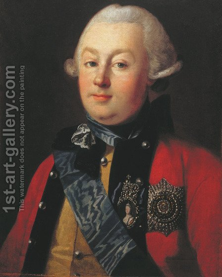 Portrait of Prince G.G. Orlov by Carl-Ludwig Christinek - Reproduction Oil Painting