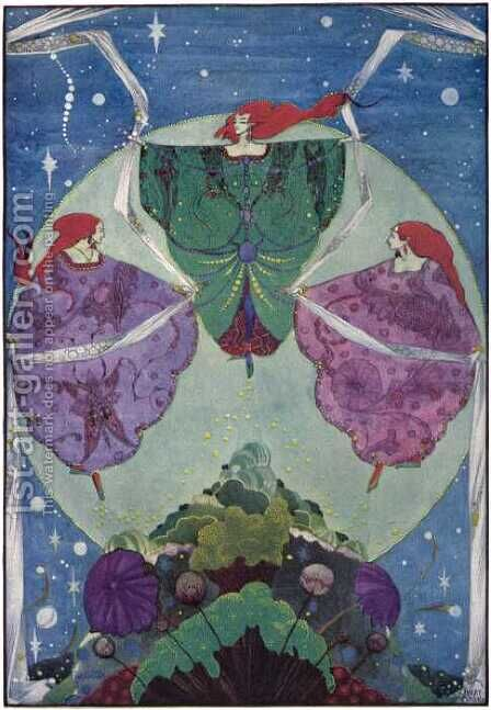 Fairy Tales by Hans Christian Andersen by Harry Clarke - Reproduction Oil Painting
