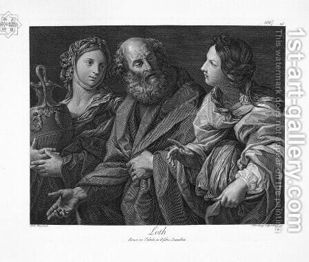 St. Jerome, by Guido Reni by Giovanni Battista Piranesi - Reproduction Oil Painting