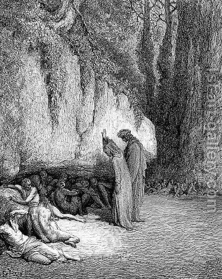 The Late Repenters by Gustave Dore - Reproduction Oil Painting