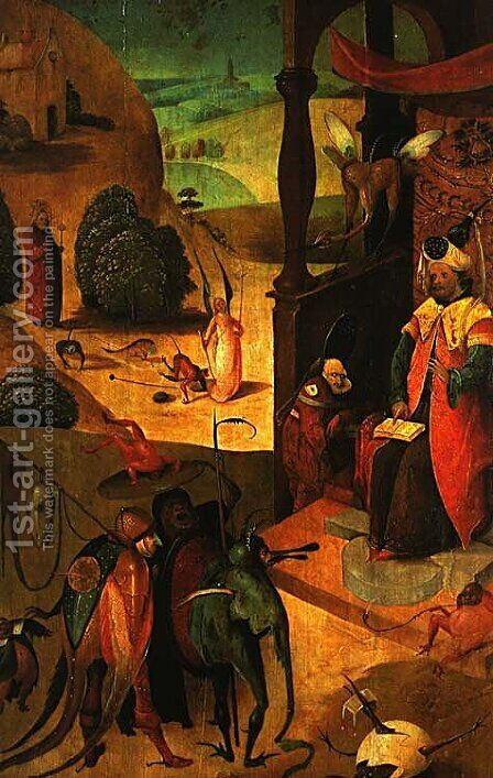 St. Jacob and the magician by Hieronymous Bosch - Reproduction Oil Painting