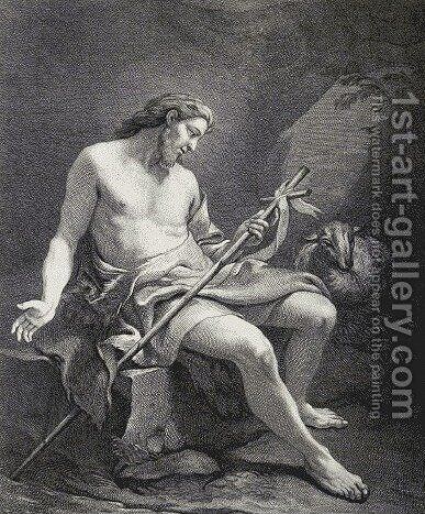 John the Baptist by Guido Reni - Reproduction Oil Painting