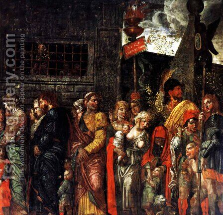 Prisonnniers by Andrea Mantegna - Reproduction Oil Painting