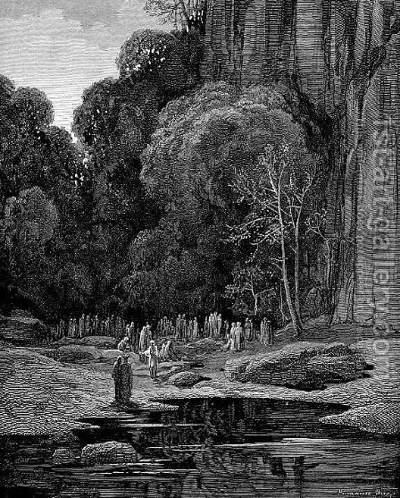 The Late Repenters II by Gustave Dore - Reproduction Oil Painting