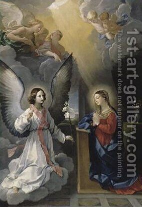 The Annunciation by Guido Reni - Reproduction Oil Painting