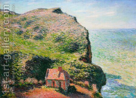 The Custom's House by Claude Oscar Monet - Reproduction Oil Painting