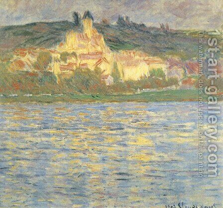 Vetheuil 3 by Claude Oscar Monet - Reproduction Oil Painting