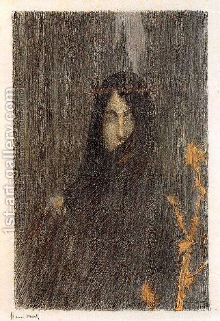 The Silence by Henri Martin - Reproduction Oil Painting
