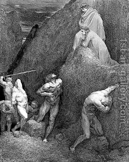 Schismatics--Mahomet by Gustave Dore - Reproduction Oil Painting