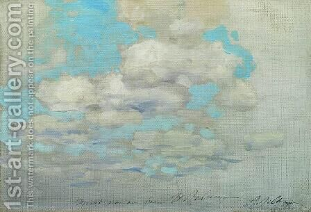 Clouds by Isaak Ilyich Levitan - Reproduction Oil Painting